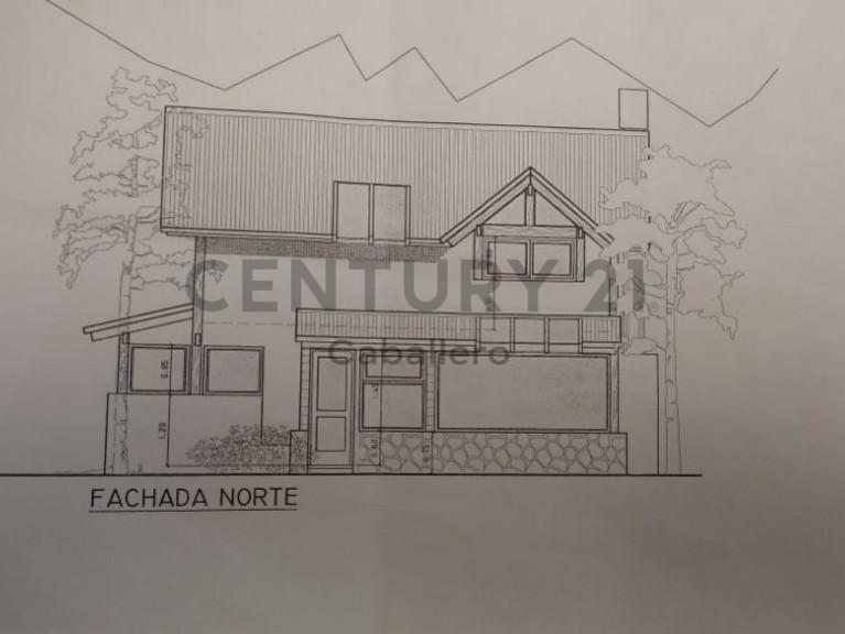 casa de 120m2 en barrio tres cerros, villa la angostura