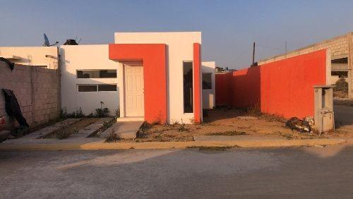 casa de 145 m2 de terreno, 2 recamaras