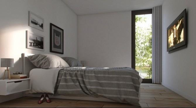 casa de 2 dormitorios en parque de las sierras !