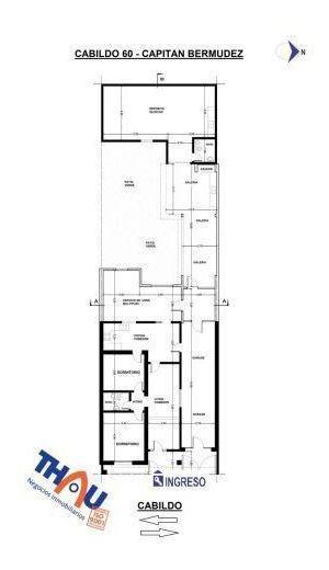 casa de 2 dormitorios, retiro de jardín, living comedor, cocina comedor, espacio de usos múltiples, baño, cochera para 2 autos, galería con asador, galpón depósito con baño, patio verde y terraza.