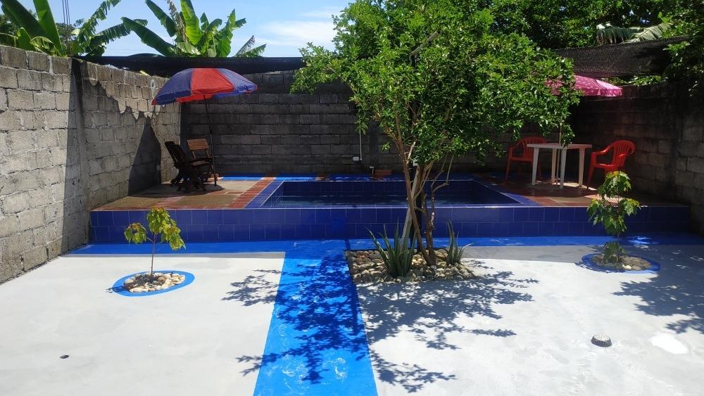 casa de 2 habitaciones 2 baños piscina 1,50