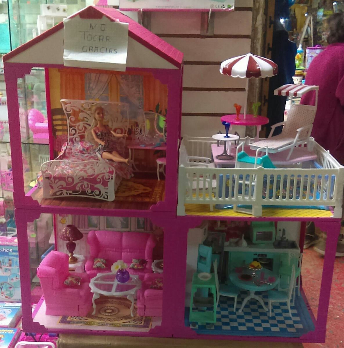 Casa de 2 pisos amoblada set barbie s 210 00 en - Supercasa de barbie ...