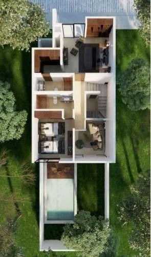 casa de 2 pisos en pre venta ( temozón )