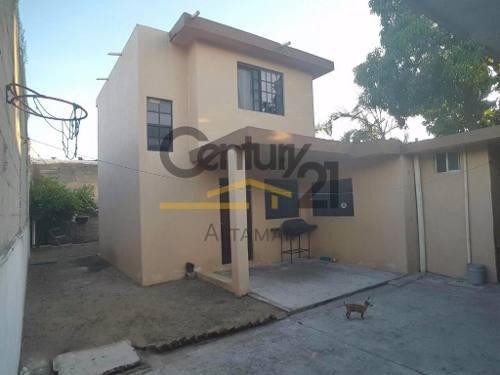 casa de 2 pisos en venta, col. las américas, tampico, tamaulipas.