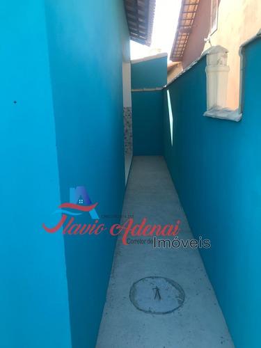 casa de 2 quartos com ou sem suíte, unamar, cabo frio - fac 216 - 34135142
