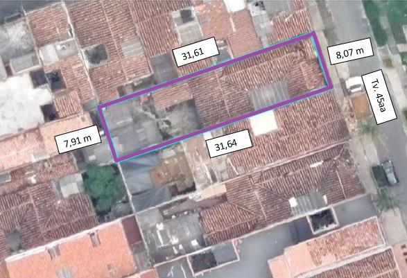 casa de 233,64 mt2 floresta-medellín