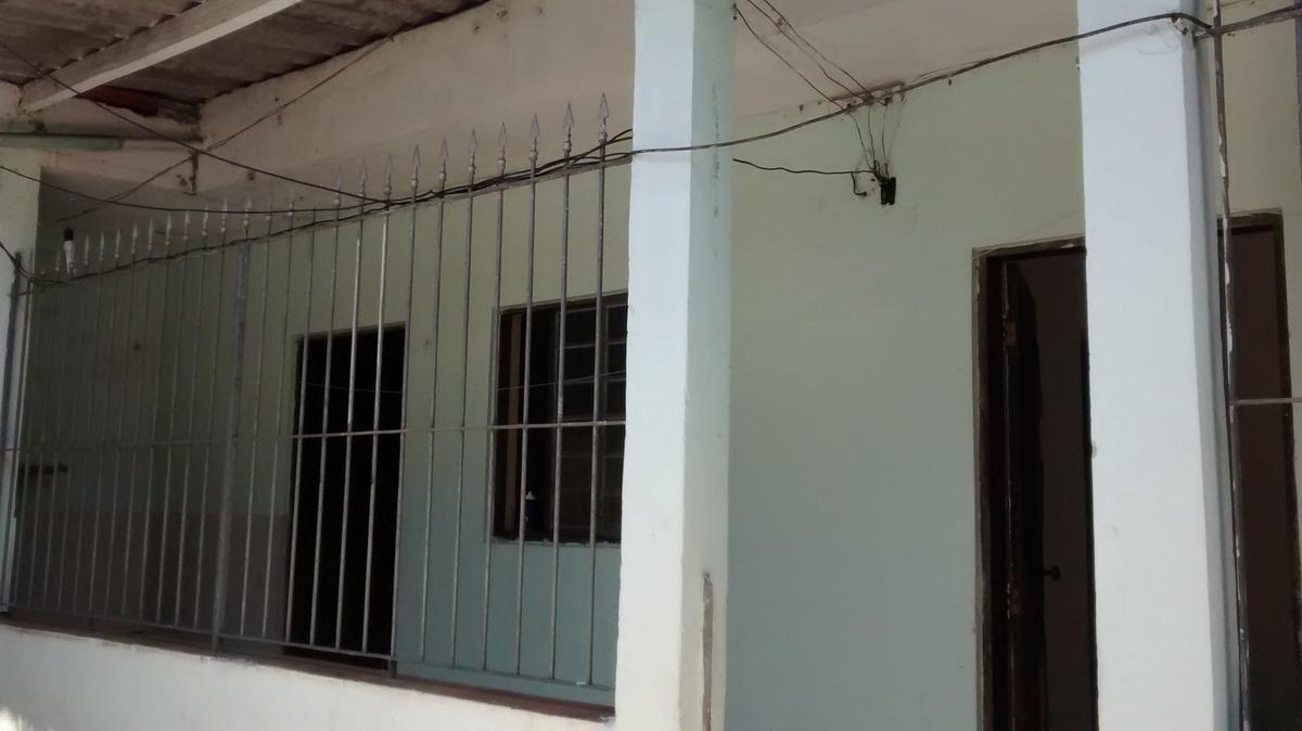 casa de 3 cômodos com garagem - jd das orquídeas