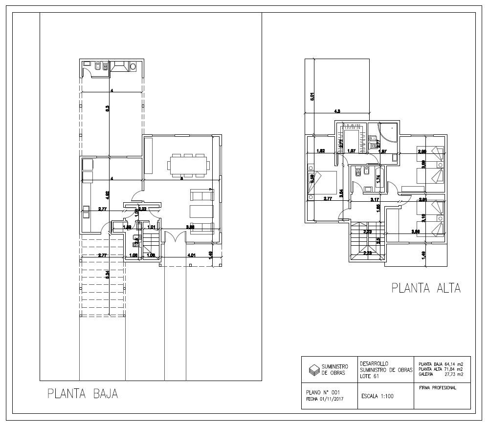 casa de 3 dormitorio anticpo y cuotas en barrio cruz del sur