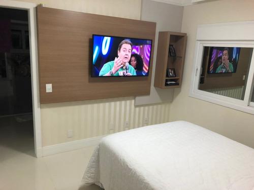casa de 3 dormitórios com 1 suíte   toda mobiliada  