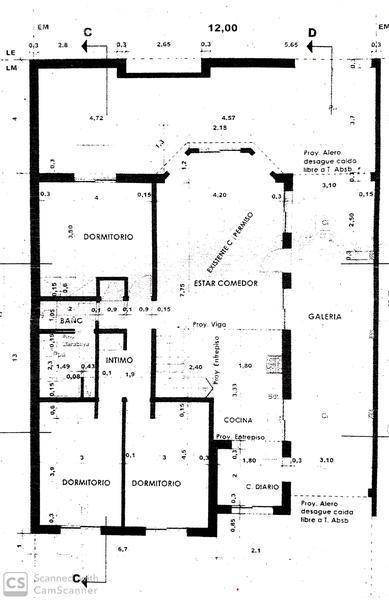 casa de 3 dormitorios y piscina en funes