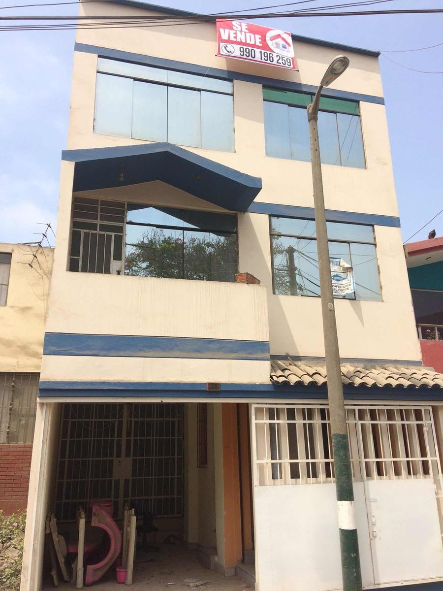 casa de 3 pisos y azotea totalmente terminado