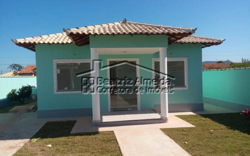 casa de 3 quartos com terreno de 480m² em itaipuaçu marica rj