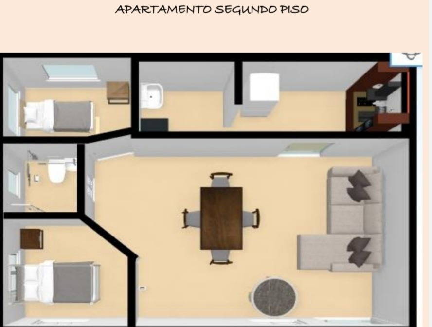 casa de 4 apartamentos totalmente terminada.