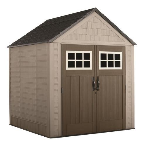 casa de almacenamiento / cobertizo rubbermaid 7 x 7