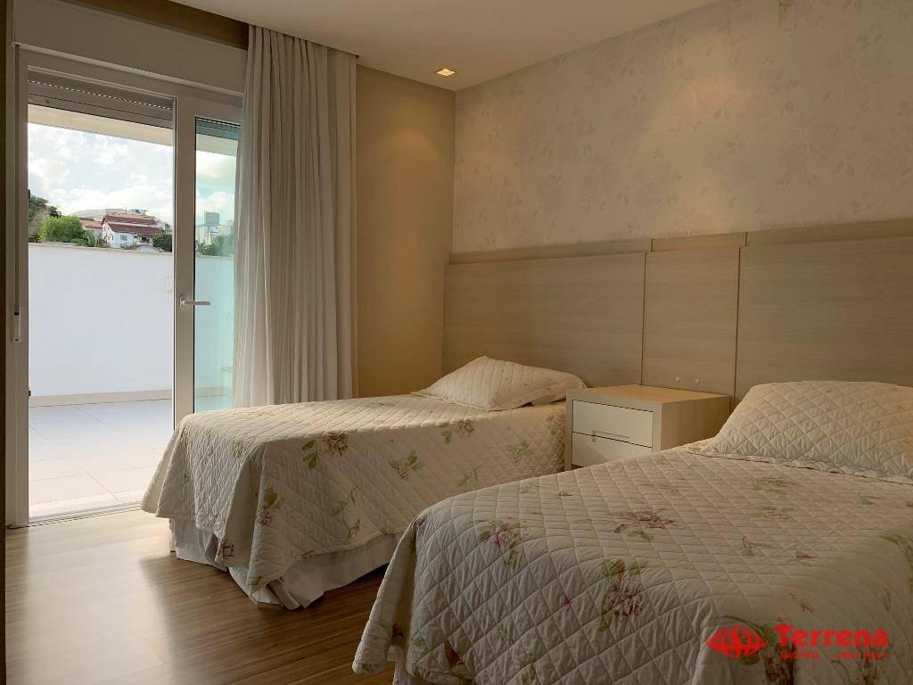 casa de alto padrão, 410 m² - vila nova - blumenau/sc - ca0088