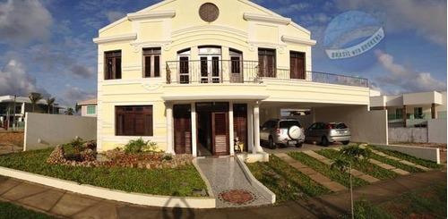 casa de alto padrão com 5 suítes, no bosque dos poetas - cidade dos bosques - ca0069