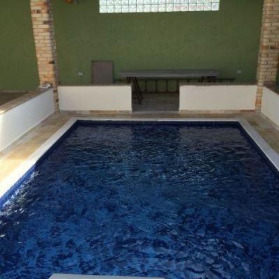casa de alto padrão com piscina, no josedy, em peruibe