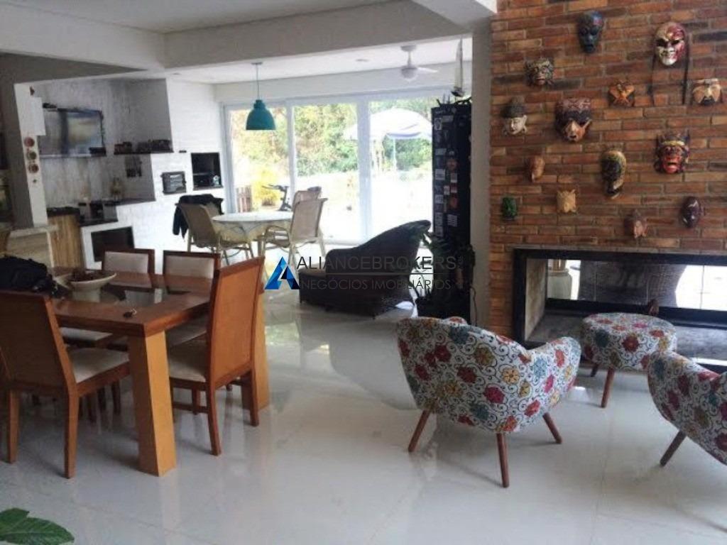 casa de alto padrão, condomínio capital ville, 5 dormitórios com suíte, condomínio com área de lazer completa - ca0595 - 32930904