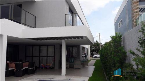casa de alto padrão em alphaville eusébio - ca1484. - ca1484
