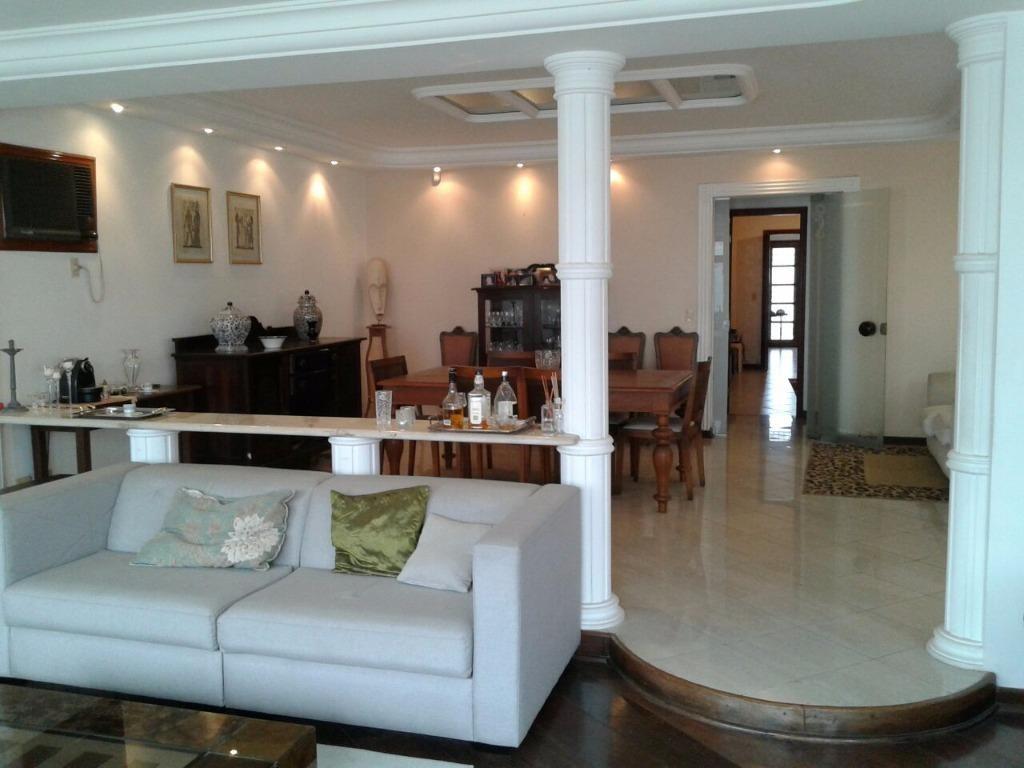 casa de alto padrão no morro da nova cintra, 550m² e 4 dormitórios - ca0106