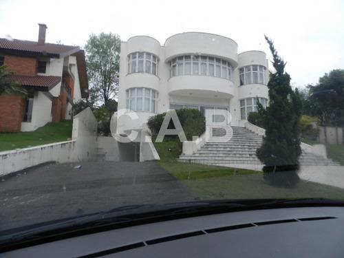 casa de alto padrão no residencial tambore 3 em alphaville - 4782