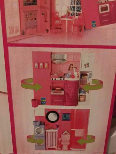 casa de barbie 50 piezas