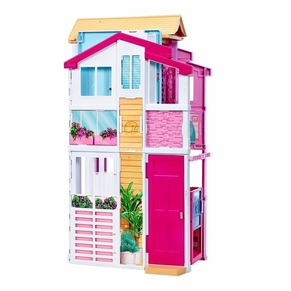 Casa de barbie casita mu ecas jacuzzi elevador 2 599 for Amazon casa