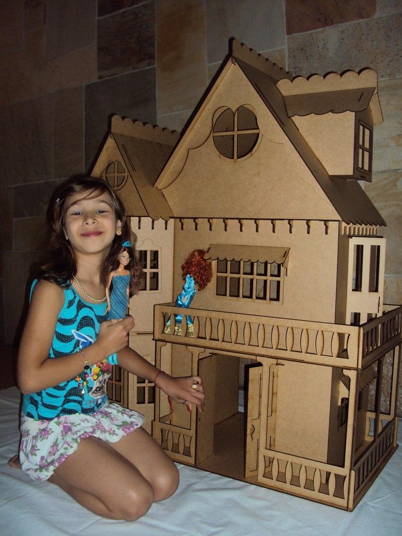 d0b35c644 casa de boneca casinha de bonecas barbie princesas emily cr. Carregando  zoom.