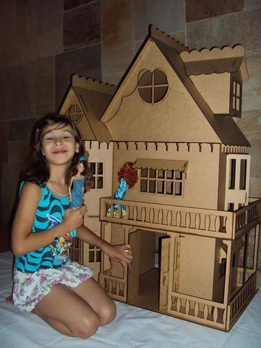 casa de boneca casinha de bonecas barbie princesas emily cr