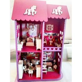 Casa De Bonecas Mdf