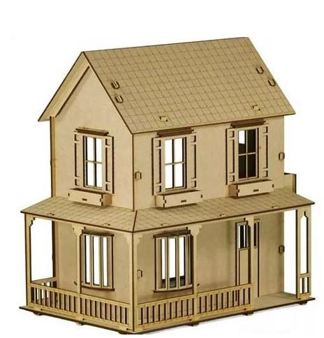 casa de bonecas mdf para polly barbie pocket e similares c2