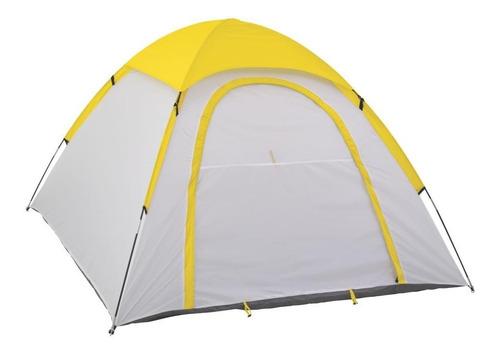 casa de campaña go 6 personas amarilla coleman 2000017031