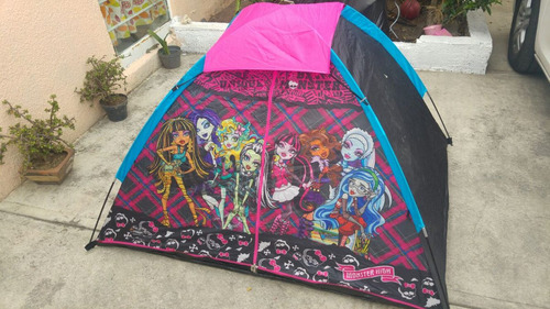 casa de campaña monster high