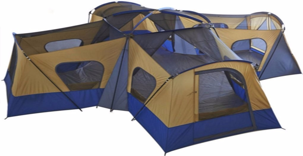 Casa De Campa 241 A Ozark Trail Base Camp 14 Person Cabin Tent