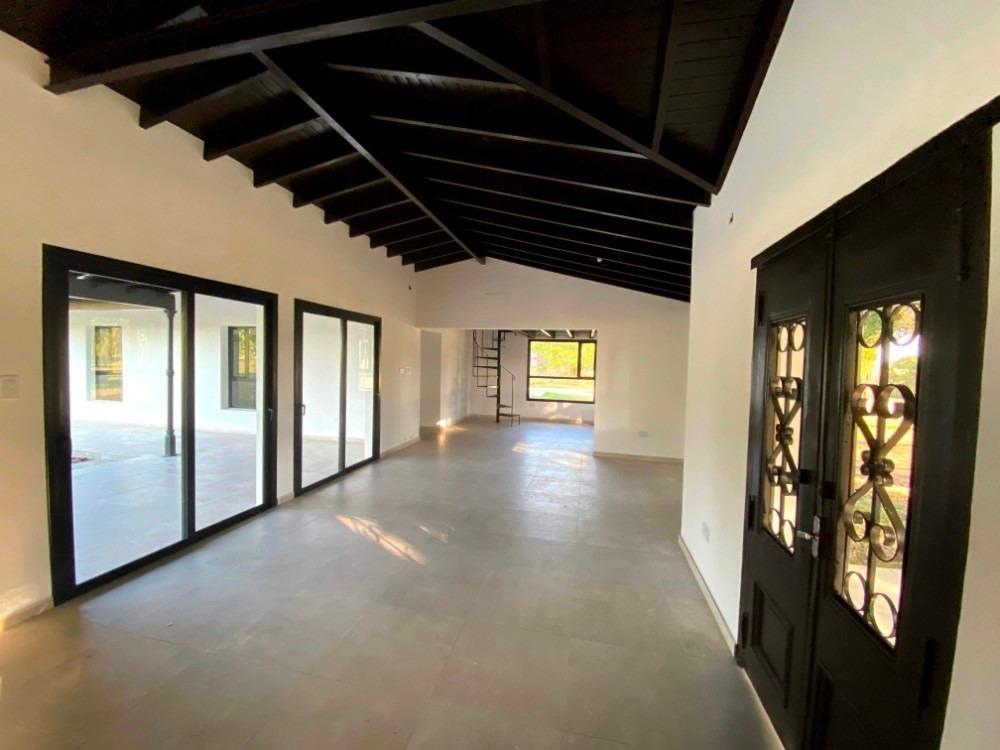 casa de campo a estrenar en santa catalina - open door lujan