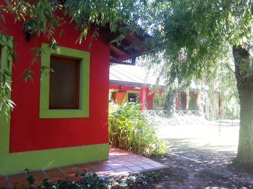 casa de campo -  barrio cerrado campos de roca - alquiler
