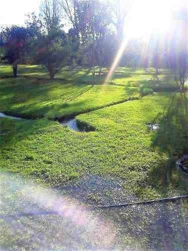 casa de campo con hermoso terreno de 4,000 m2