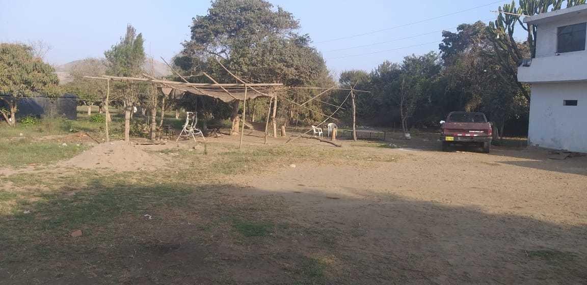 casa de campo con terreno agricola