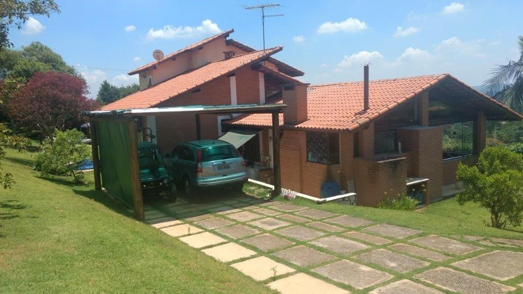 casa de campo em condomínio fechado c/3 dorms - cod 77041