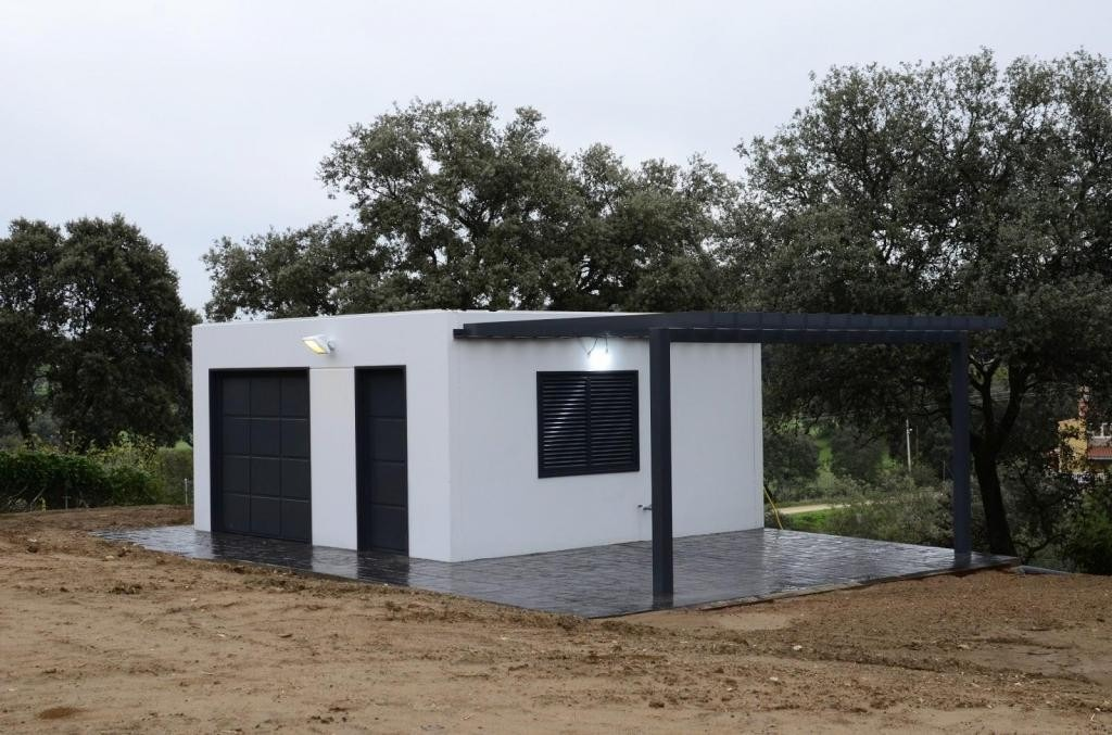 Casa de cemento paredes y techo antisismica 36m2 u s 8 for Techos de concreto para casas