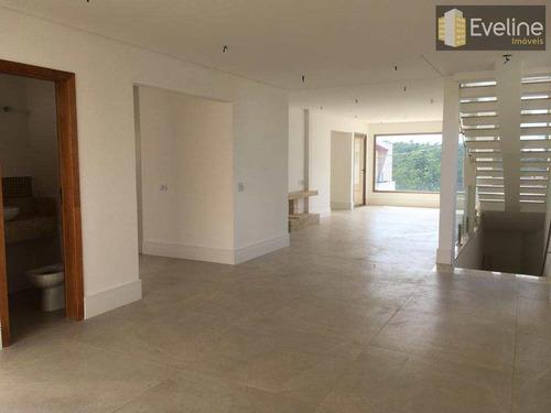 casa de condomínio a venda - bella citta - 4 suítes - mogi - v751