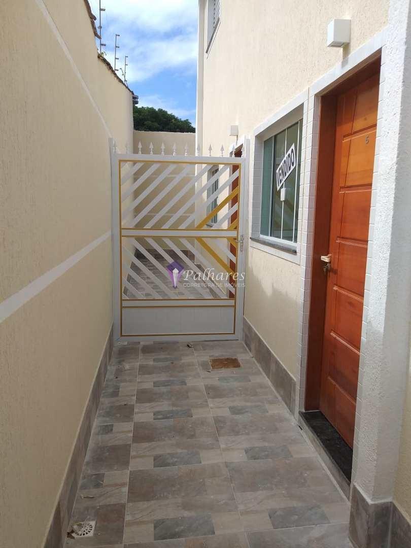 casa de condomínio com 1 dorm, caiçara, praia grande - r$ 170 mil, cod: 29 - v29