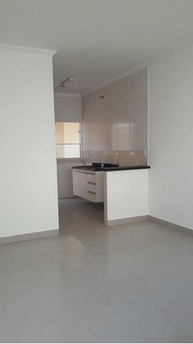 casa de condomínio com 1 dorm, maracanã, praia grande - r$ 150.000,00, 55m² - codigo: 412121 - v412121