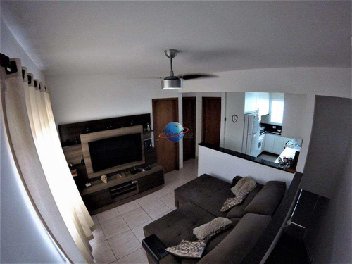 casa de condomínio com 2 dorms, aviação, praia grande - r$ 180 mil, cod: 4640 - v5027