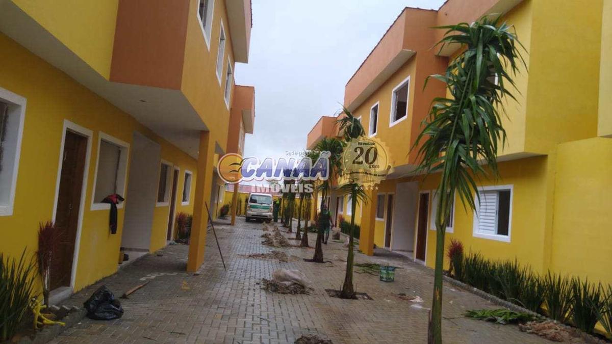 casa de condomínio com 2 dorms, gaivotas, itanhaém - r$ 150 mil, cod: 6812 - v6812