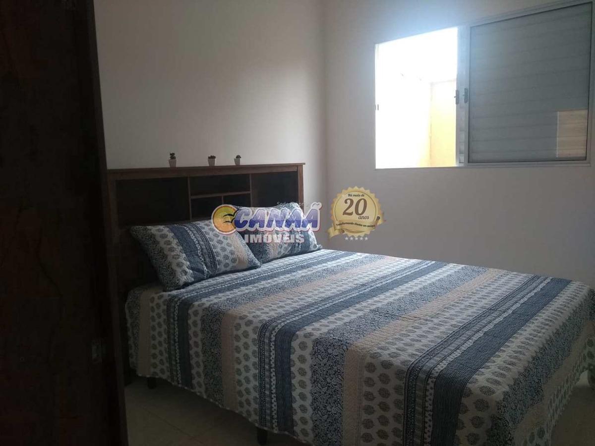 casa de condomínio com 2 dorms, gaivotas, itanhaém - r$ 150 mil, cod: 6860 - v6860