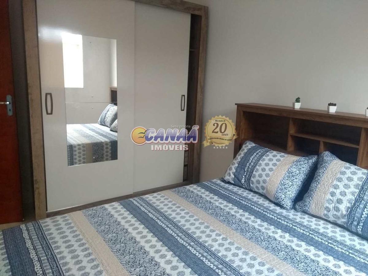 casa de condomínio com 2 dorms, gaivotas, itanhaém - r$ 150 mil, cod: 6866 - v6866