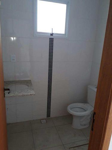 casa de condomínio com 2 dorms, vila são jorge, são vicente - r$ 240.000,00, 60m² - codigo: 460 - v460