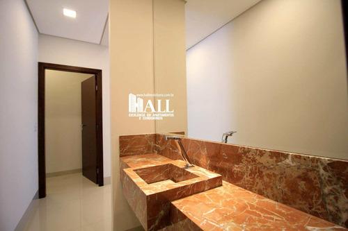 casa de condomínio com 3 dorms, condomínio golden park residence, mirassol - r$ 1.144.000,00, 265m² - codigo: 3758 - v3758