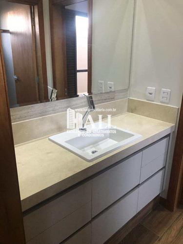 casa de condomínio com 3 dorms, condomínio golden park residence, mirassol - r$ 849.000,00, 215m² - codigo: 4380 - v4380